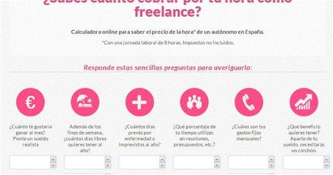 Calculadora Freelance, la App que Calcula el Precio de tu Trabajo como Autónomo