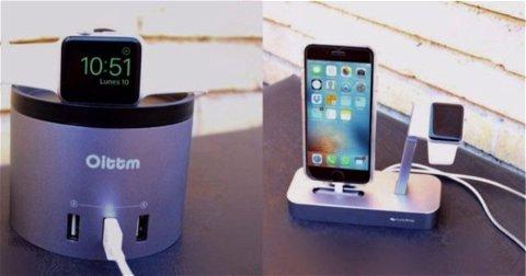 iVAPO y OITTM, los dock de carga para Apple Watch y iPhone más elegantes del mercado
