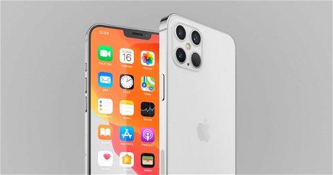 Así sería el pequeño notch del iPhone 12 Pro
