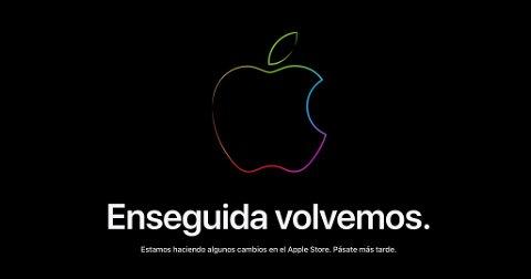 Apple Store Online cerrada a la espera del iPhone 13