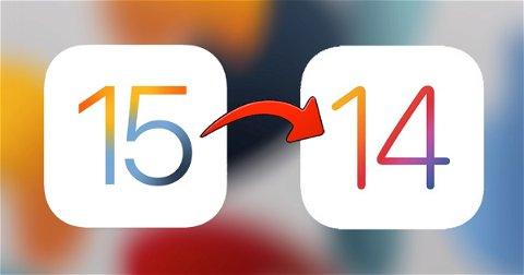 Cómo hacer downgrade de iOS 15 beta a iOS 14