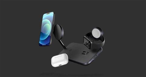 Vas a querer este cargador 4 en 1 que puede cargar un iPhone, un Apple Watch y los AirPods al mismo tiempo