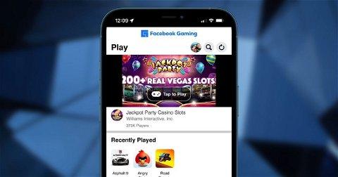 Deja de jugar a Facebook Gaming, es un desastre en iPhone y en iPad