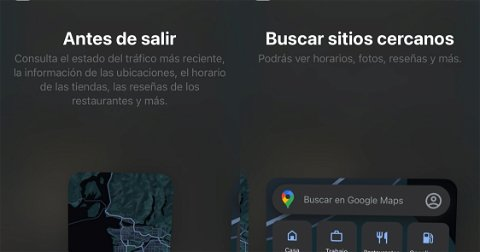 Google Maps recibe widgets en su app de iOS