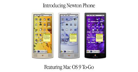 Así habrían sido el iPhone o el iPad si Apple los hubiera lanzado en los 90