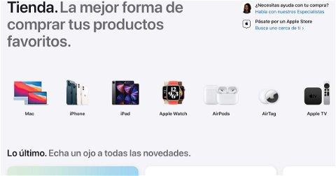 Apple renueva el diseño de la Apple Store Online a lo grande