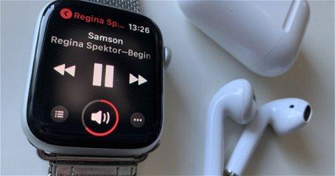 Escucha música de Apple Music en tu Apple Watch sin conexión... y sin tener un iPhone