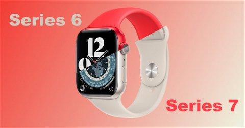 Apple Watch Series 7 vs Apple Watch Series 6, ¿cuáles son los cambios?