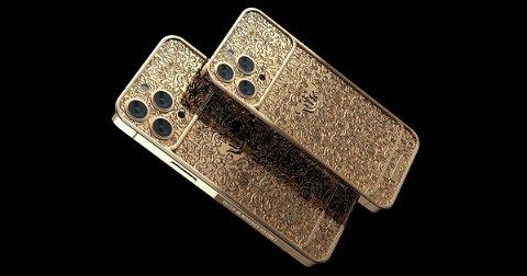 Ya está listo el iPhone 13 Pro más caro: 45.000 dólares de lujo